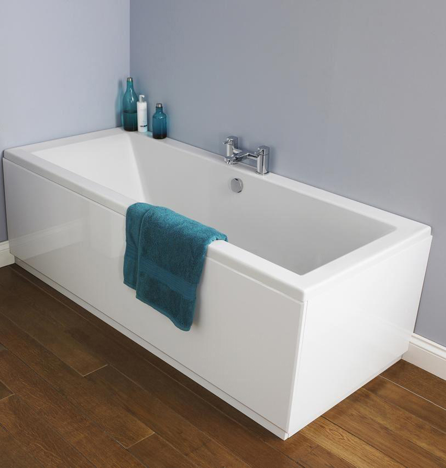 designer single double ended straight bathtub bathroom