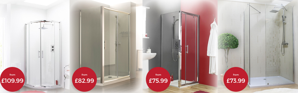 Shower Enclosures Banner