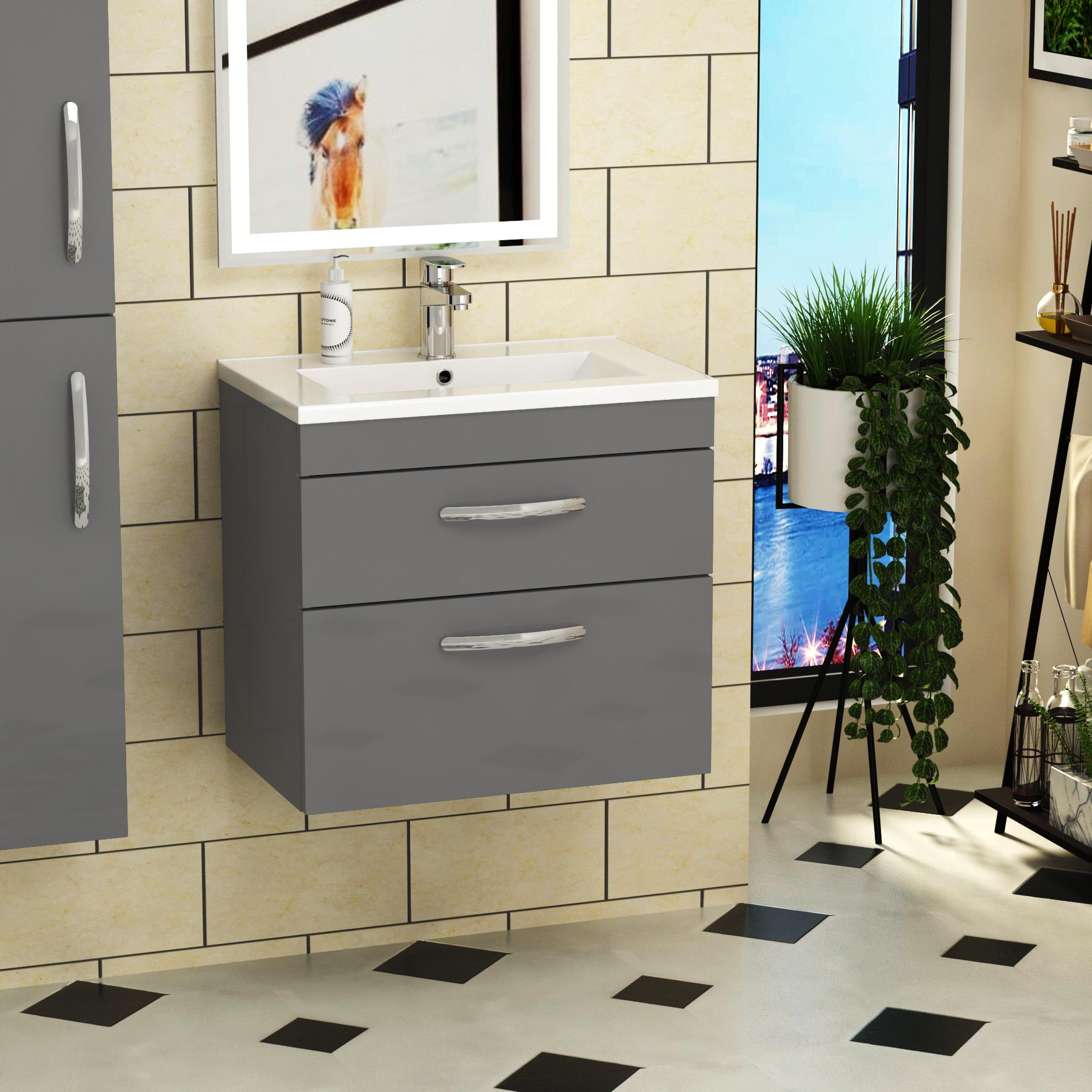 Bathroom Vanity Unit Basin Sink Furniture Cabinet Storage