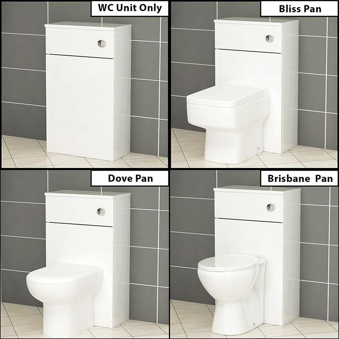 Bathroom Vanity Unit Worktop Countertop Basin Sink Cabinet
