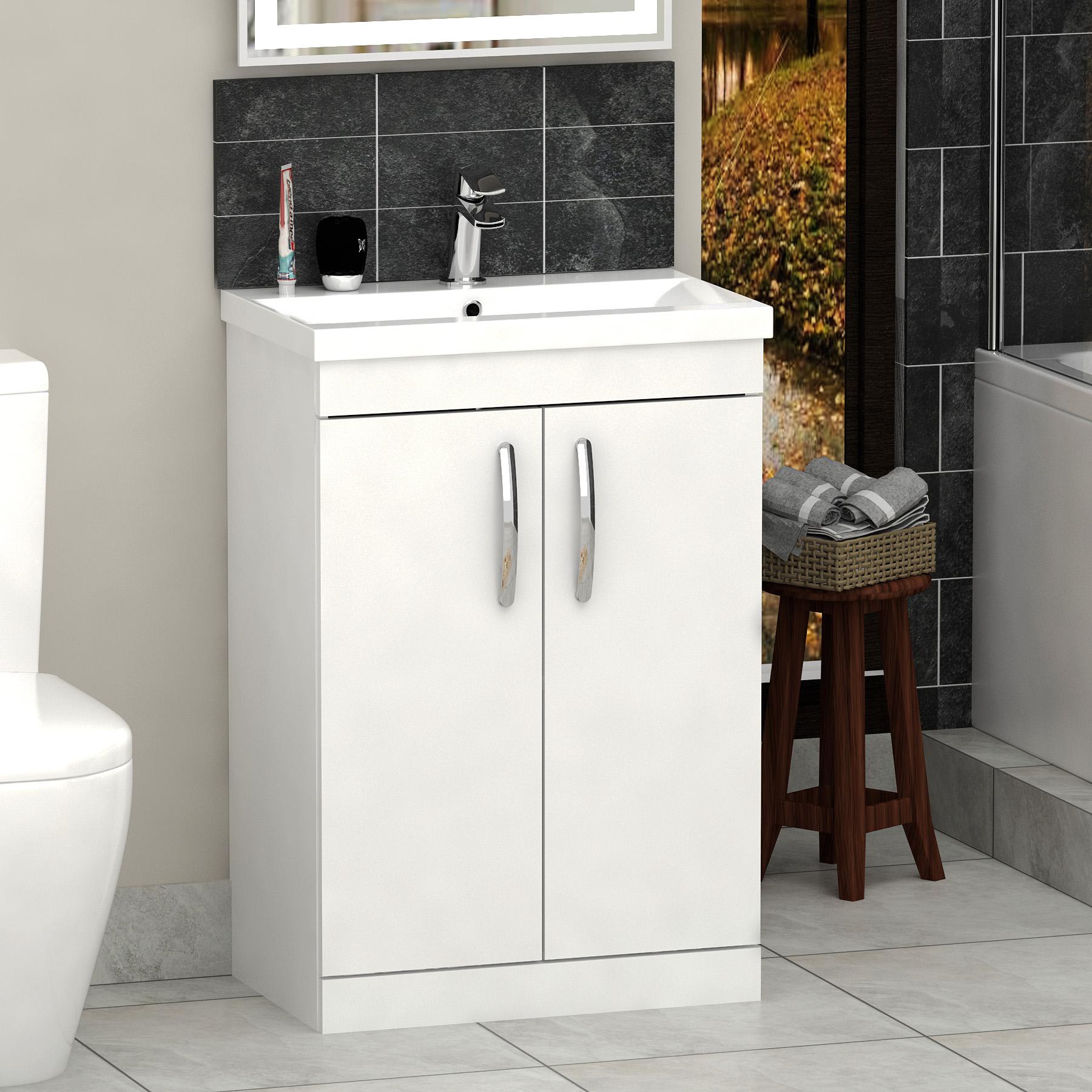 Bathroom Suite L Shaped Shower Bath Screen Toilet Amp Mid