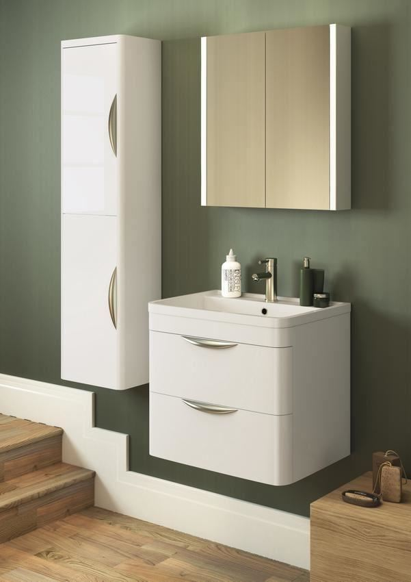 Ebay Bathroom Vanity With Sink: White Bathroom Vanity Unit And Sink Basin Cloakroom WC
