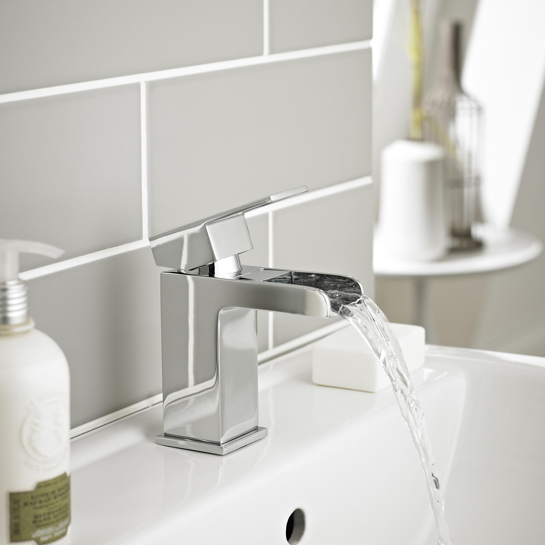 Modern Bathroom Chrome Adore Basin Mixer Sink Bath Filler Shower Tap ...